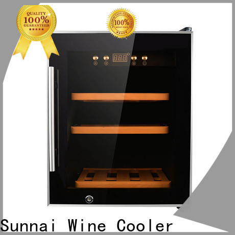 Sunnai safety electric wine cooler manufacturer for work station