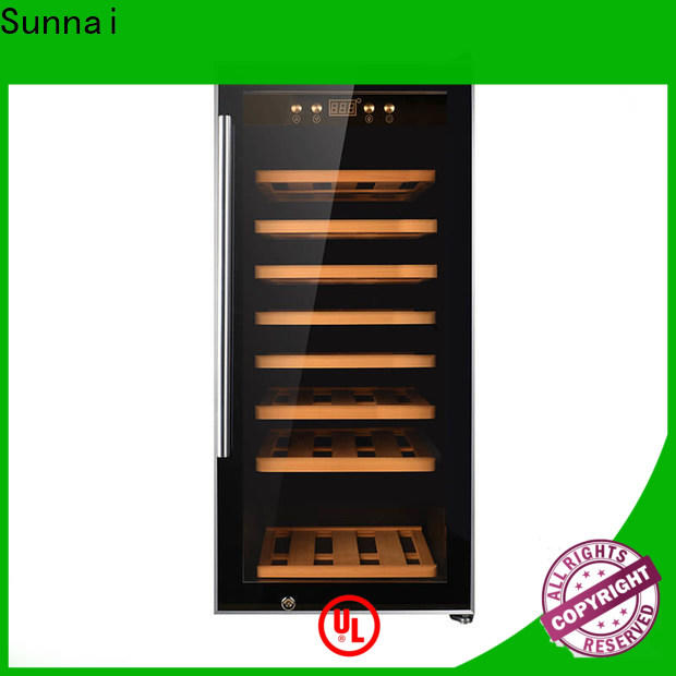 durable small wine chiller cabinets zone wholesale for home