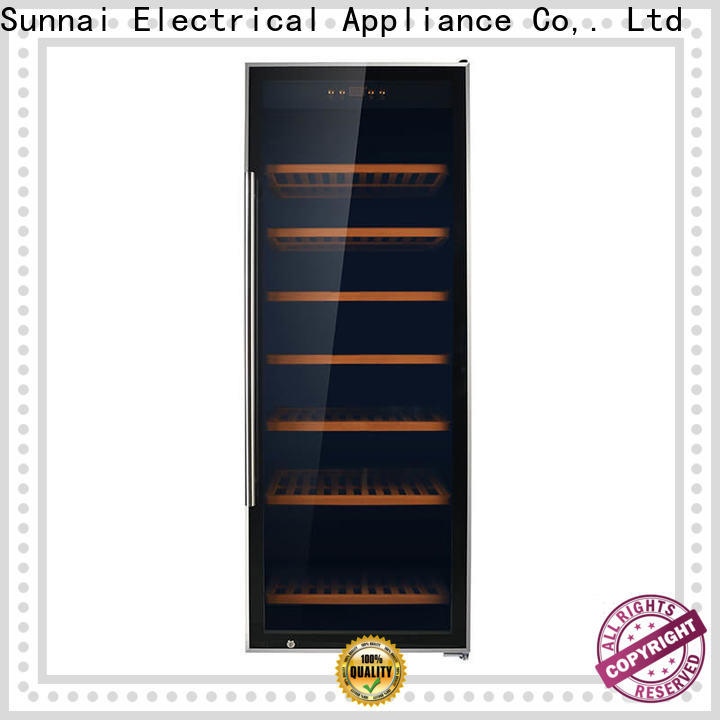 Sunnai wine refrigerators and coolers zone wholesale for work station