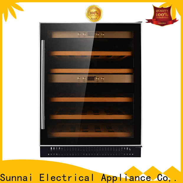 Sunnai double under cabinet wine chiller series for work station