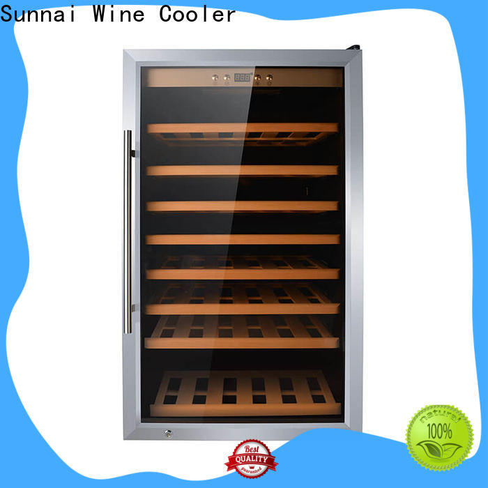 Sunnai wine fridge height door product for home
