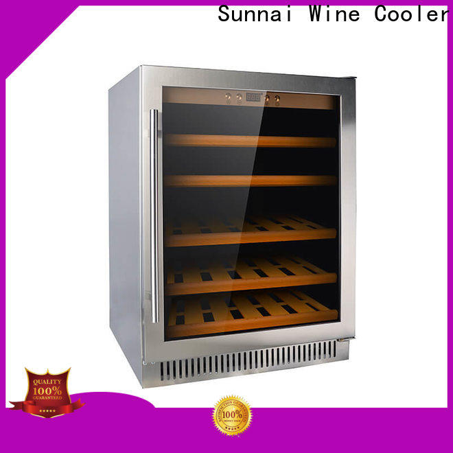 durable best under cabinet wine cooler black wholesale for work station