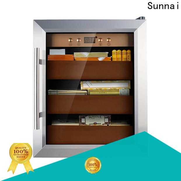 Sunnai cigar fridge cigar company for home