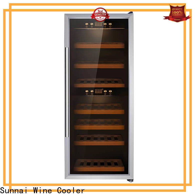 Sunnai smaller 15 inch wide wine fridge wholesale for work station