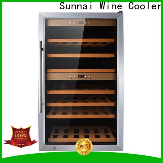 Sunnai safety 24 in wine fridge wholesale for shop