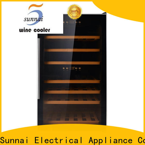professional cool wine fridges wood wholesale for indoor
