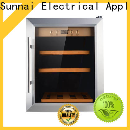 Sunnai steel wine cooler measurements series for work station
