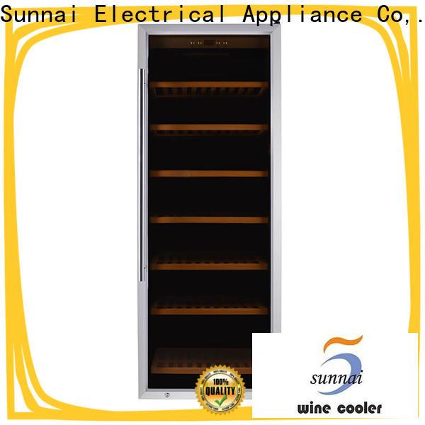 high quality wine fridge 24 x 34 door refrigerator for shop