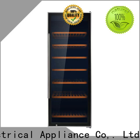 Sunnai beech wine fridge 30 inches high wholesale for indoor