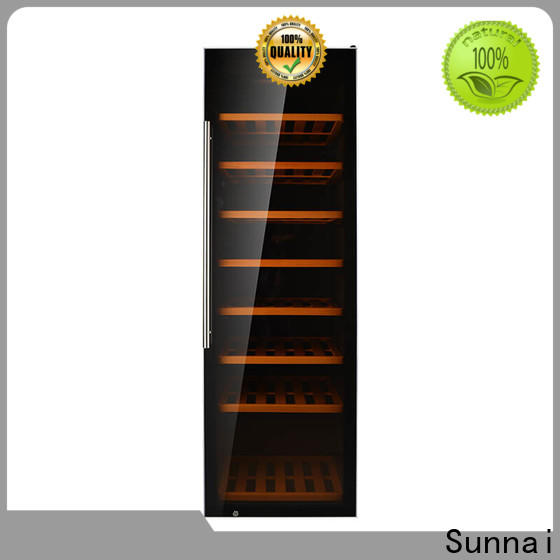 Sunnai chiller counter height wine cooler refrigerator for shop