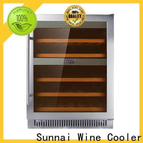 high quality under counter wine fridge single manufacturer for indoor