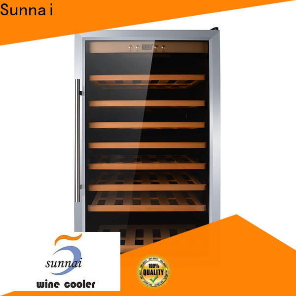 Sunnai panel home wine fridge wholesale for shop
