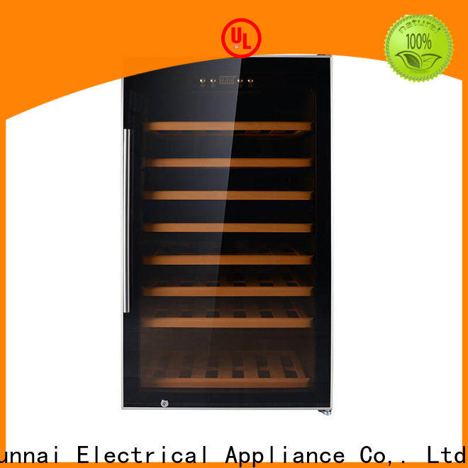 Sunnai online wine cooler fridge slimline manufacturer for indoor