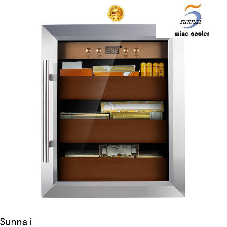 Sunnai online cigar humidor cooler factory for home