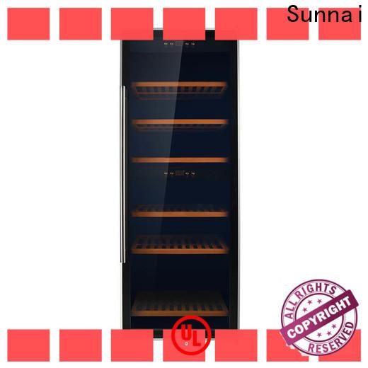 Sunnai double 15 x 34 wine refrigerator wholesale for shop