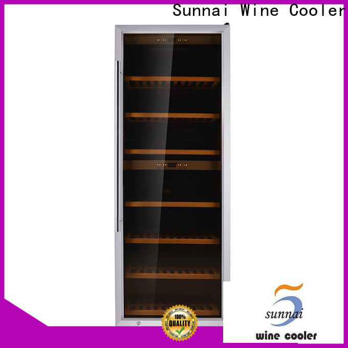 Sunnai safety small red wine fridge series for indoor
