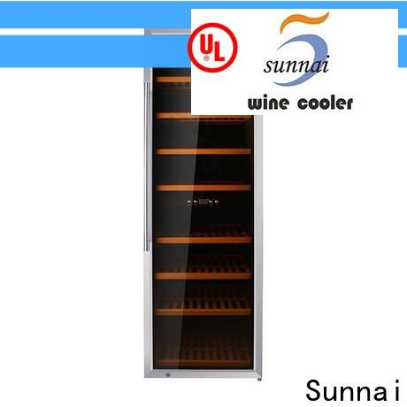 Sunnai black 30 inch high wine refrigerator wholesale for shop