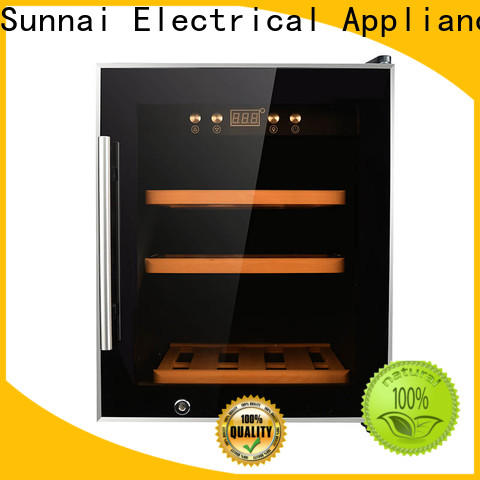 Sunnai safety shop wine fridge refrigerator for indoor