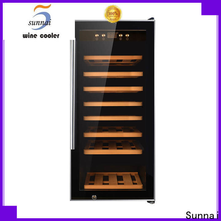 Sunnai compressor wine cooler 14 inches wide wholesale for home