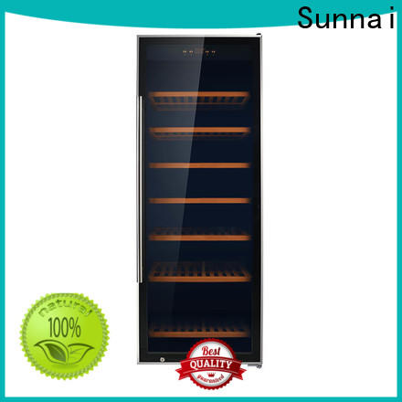 Sunnai silver 18 inch undercounter wine cooler series for indoor