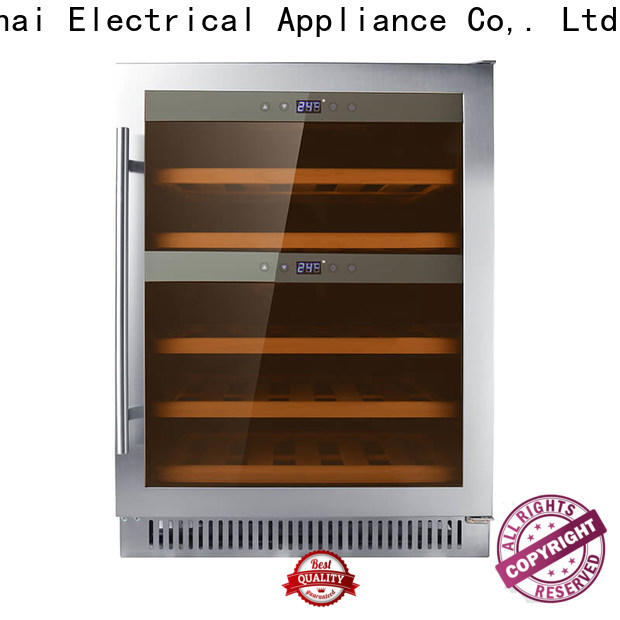 Sunnai stainless narrow under counter wine fridge compressor for home
