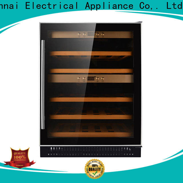 Sunnai online cheap under counter wine cooler compressor for home