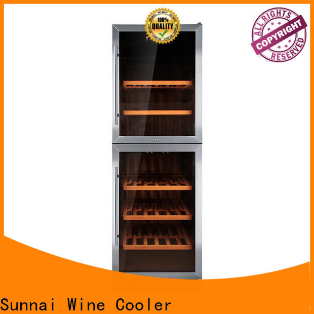 Sunnai best compressor wine cooler single series for home