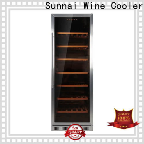 Sunnai double undercounter thermoelectric wine cooler compressor for work station