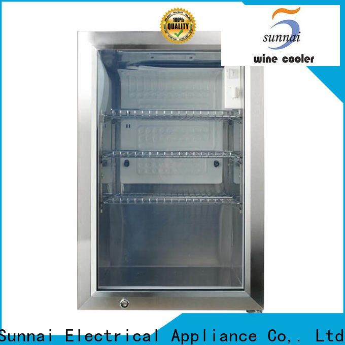 Sunnai car small beverage refrigerator supplier for work station
