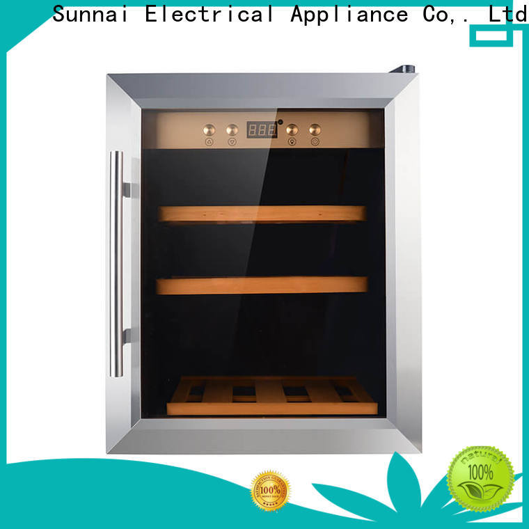 Sunnai durable large wine refrigerator supplier for shop