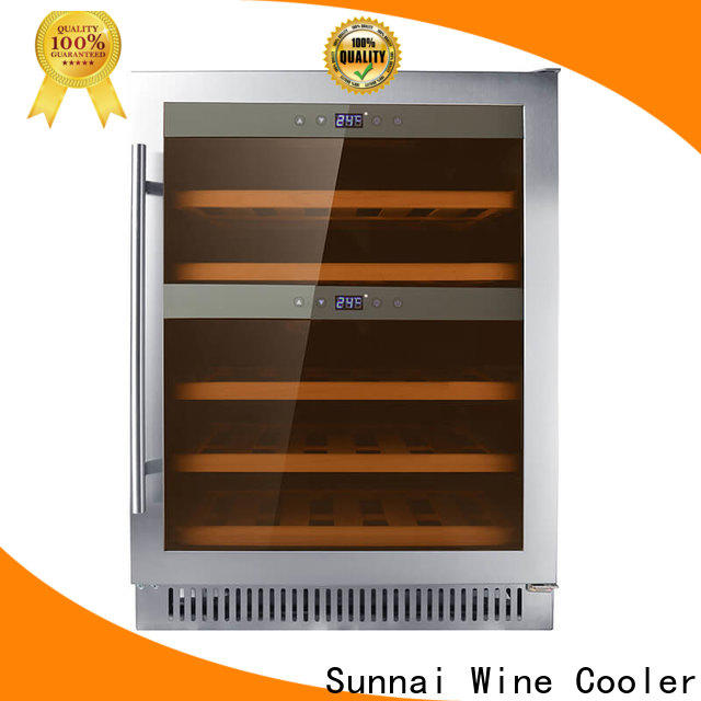 Sunnai panel best under cabinet wine cooler supplier for home