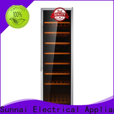 Sunnai panel wine refridgerators refrigerator for indoor