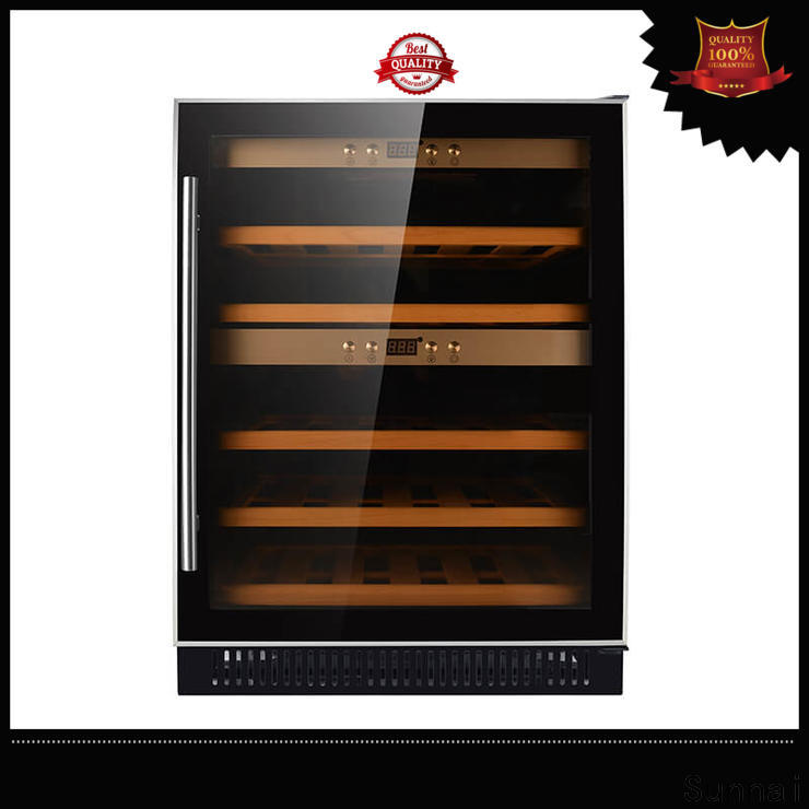 Sunnai steel cheap under counter wine cooler series for home