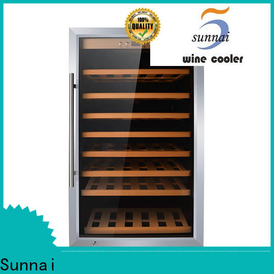 Sunnai high quality 15 wine refrigerator undercounter product for home