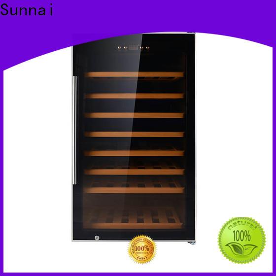 Sunnai single thin wine cooler refrigerator for home