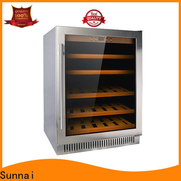 double best compressor wine cooler fridge cooler for indoor