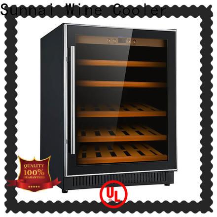 Sunnai silver 12 bottle wine cooler under cabinet series for work station