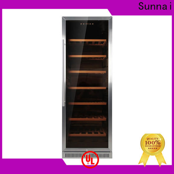 Sunnai professional best under cabinet wine cooler compressor for shop