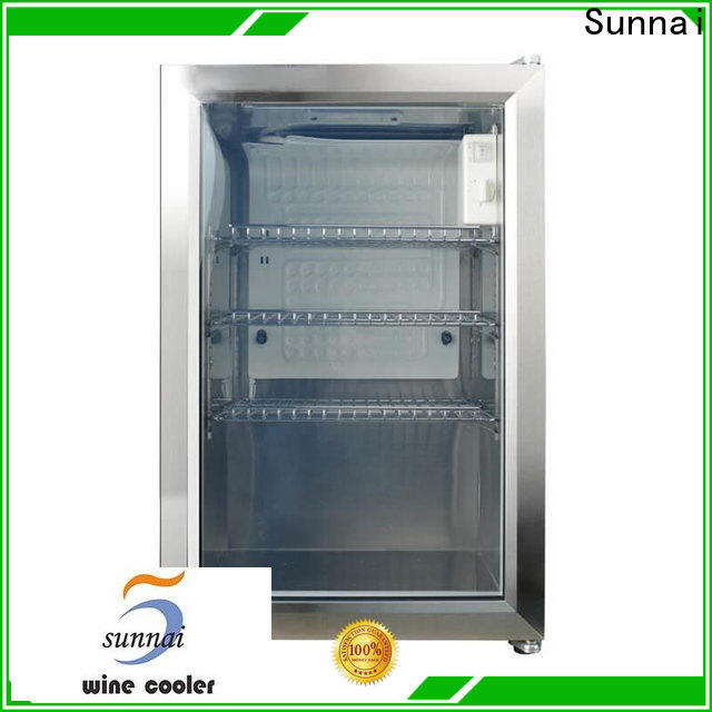 wifi glass front beer fridge rear supplier for home