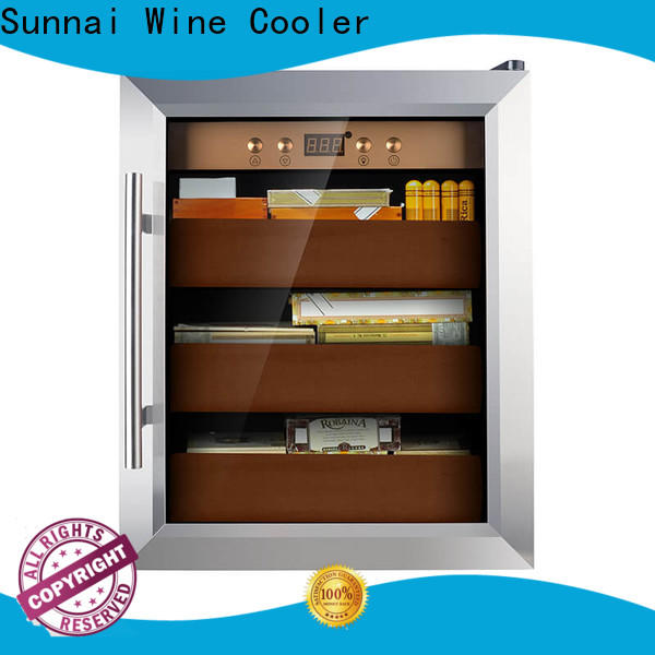 Sunnai quality cigar cooler humidor Supply for indoor