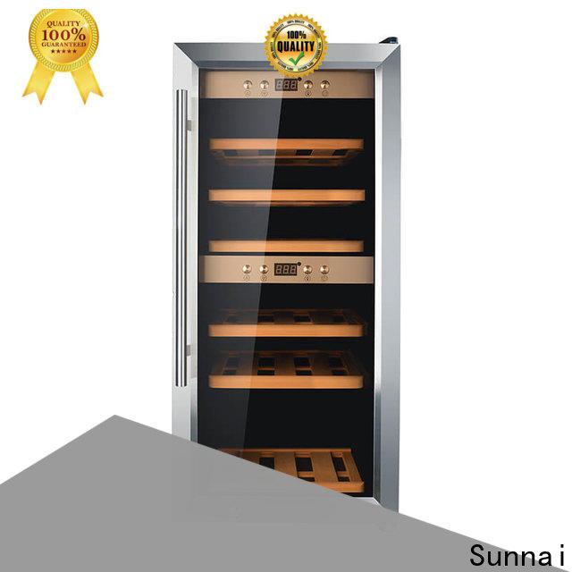 Sunnai size wide wine refrigerator refrigerator for indoor