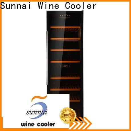 Sunnai cooler 36 inch wide wine refrigerator manufacturer for work station