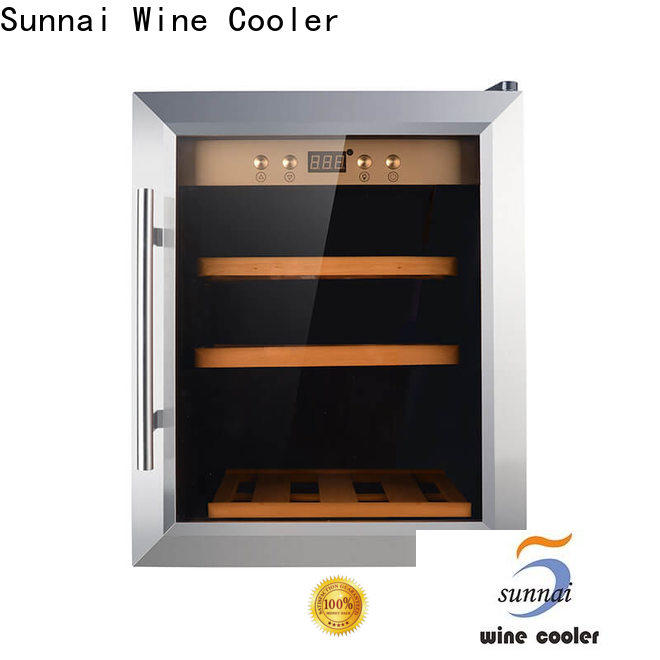 high quality tall narrow wine cooler dual wholesale for work station