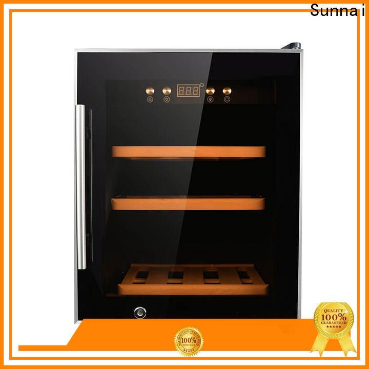 Sunnai table 15 inch undercounter wine fridge manufacturer for shop