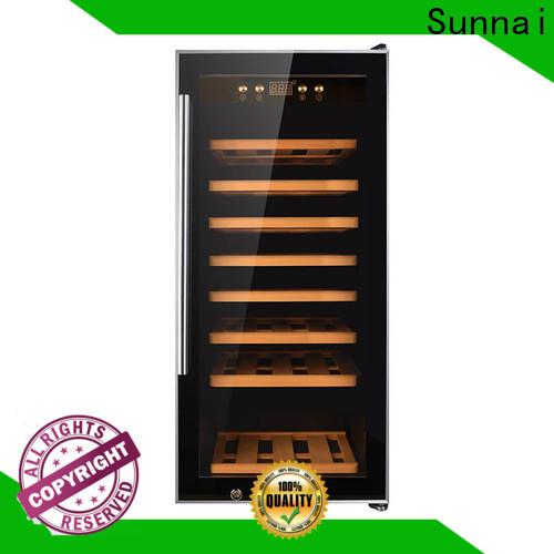 Sunnai professional black wine cooler manufacturer for shop