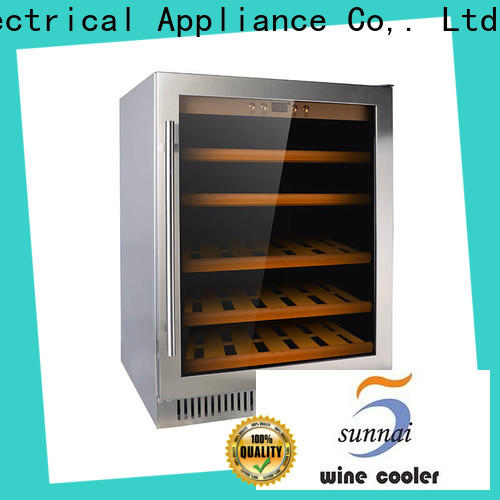Sunnai stainless under counter wine cooler wholesale for shop