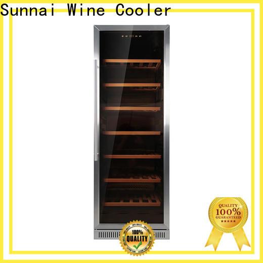 Sunnai compressor single zone wine fridge series for indoor