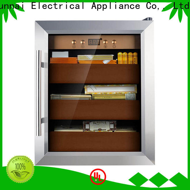 Sunnai quality stainless steel cigar humidor manufacturer for work station