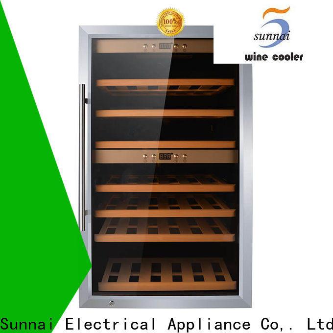 Sunnai online 15 inch undercounter wine fridge supplier for work station