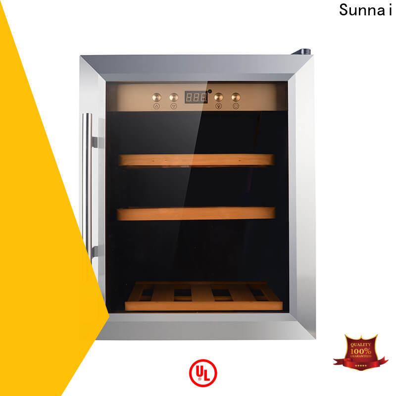 Sunnai wine wine cabinet chiller manufacturer for work station